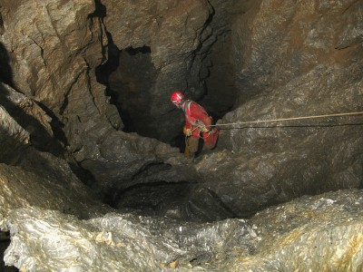 Dans les nouveaux puits de la Cayuela